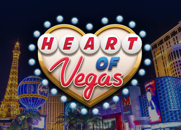 HEART OF VEGAS Casino Game from Aristocrat at Mt Bet Free Pokies